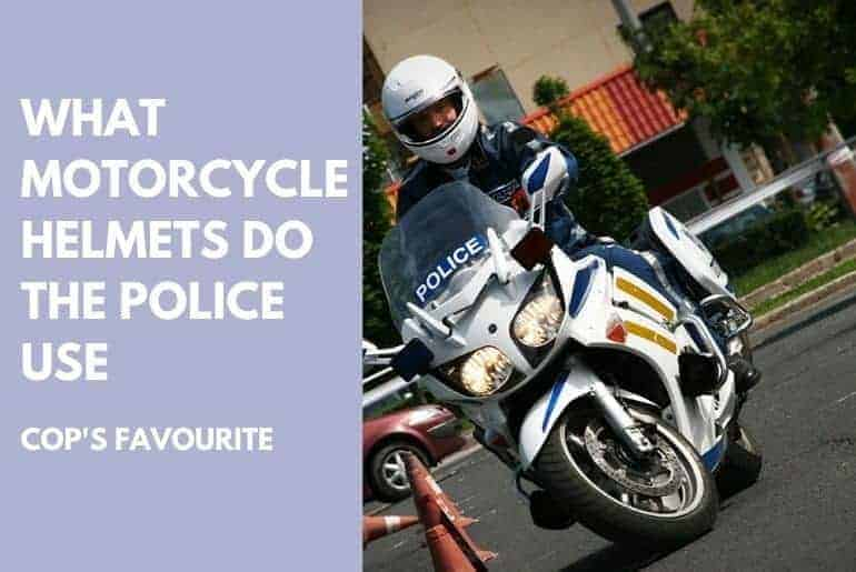 what motorcycle helmets do the police use