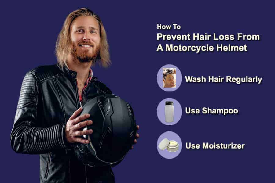 how to Prevent Hair Loss From A Motorcycle Helmet