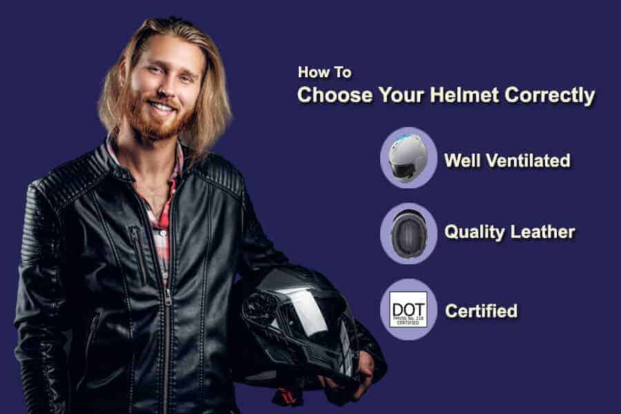how to choose your helmet correctly
