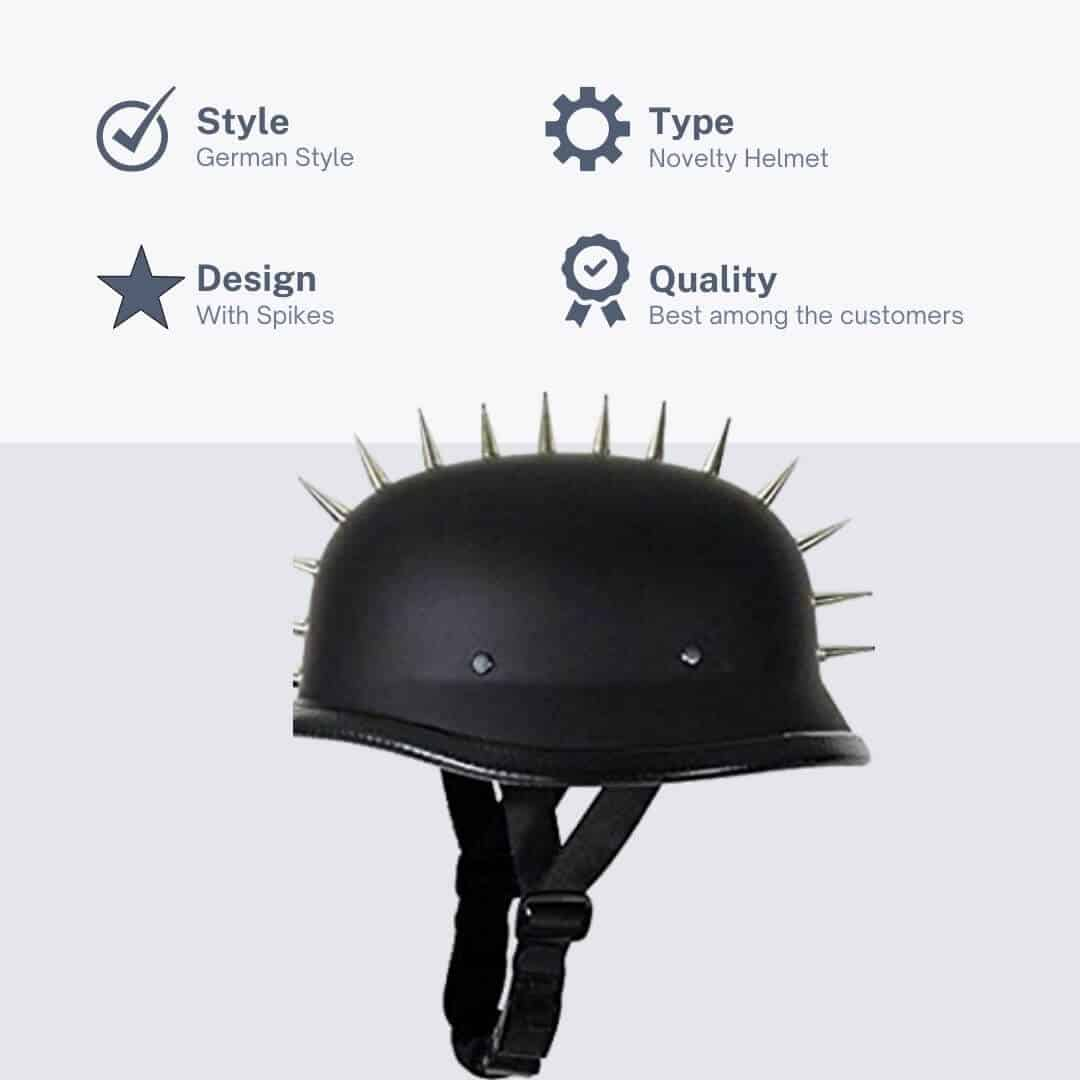 Excelsior INT German Style Helmet With Spikes