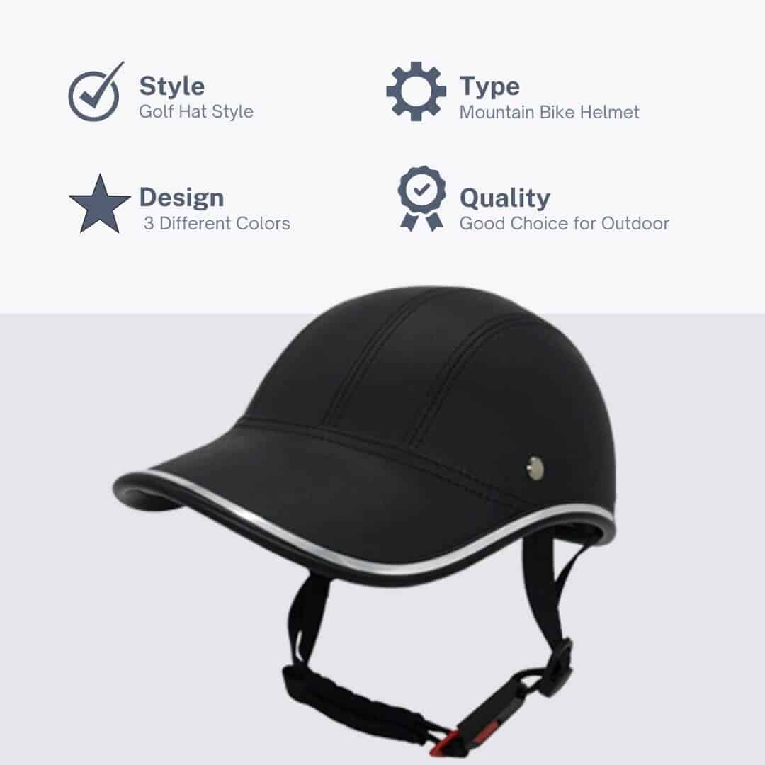 frofile baseball bike helmet